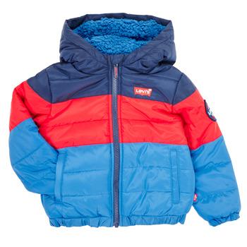 Odjeća Dječak  Pernate jakne Levi's COLORBLOCKPUFFER Multicolour