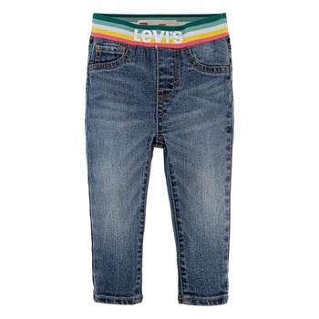 Odjeća Djevojčica Skinny traperice Levi's PULLON RAINBOW SKINNY JEAN Blue