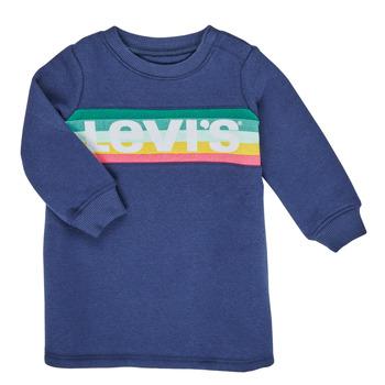 Odjeća Djevojčica Kratke haljine Levi's SWEATSHIRT DRESS Blue
