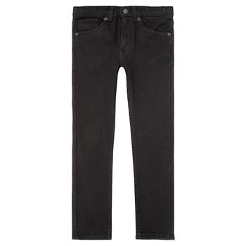 Odjeća Dječak  Skinny traperice Levi's 510 SKINNY FIT JEAN Crna