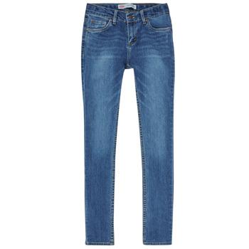 Odjeća Dječak  Skinny traperice Levi's SKINNY TAPER JEANS Blue
