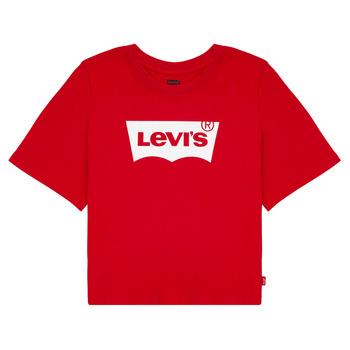 Odjeća Djevojčica Majice kratkih rukava Levi's LIGHT BRIGHT CROPPED TEE Red