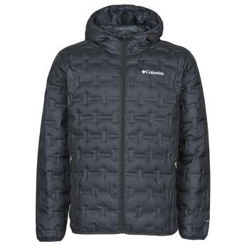 Odjeća Muškarci  Pernate jakne Columbia DELTA RIDGE DOWN HOODED JACKET Crna