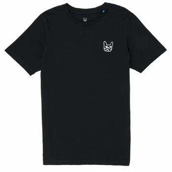 Odjeća Dječak  Majice kratkih rukava Jack & Jones JJAARHUS TEE Crna