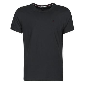 Odjeća Muškarci  Majice kratkih rukava Tommy Jeans TJM ORIGINAL JERSEY TEE Crna