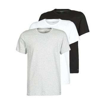 Odjeća Muškarci  Majice kratkih rukava Calvin Klein Jeans CREW NECK 3PACK Siva / Crna / Bijela