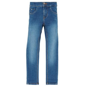 Odjeća Djevojčica Slim traperice Name it NKFPOLLY Blue