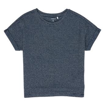 Odjeća Djevojčica Majice kratkih rukava Name it NKFKYRRA Blue