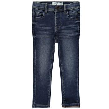 Odjeća Djevojčica Slim traperice Name it NMFPOLLY Blue