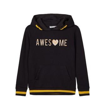Odjeća Djevojčica Sportske majice Name it NKFLABELLAS Crna
