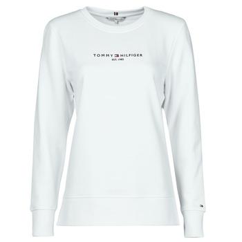 Odjeća Žene  Sportske majice Tommy Hilfiger TH ESS HILFIGER C-NK SWEATSHIRT Bijela