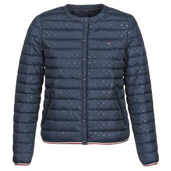 Odjeća Žene  Pernate jakne Tommy Hilfiger BELLA COLLARLESS LW DWN REV JKT Blue