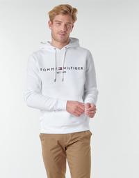 Odjeća Muškarci  Sportske majice Tommy Hilfiger TOMMY LOGO HOODY Bijela