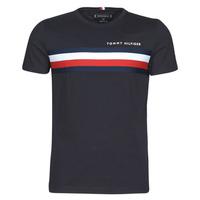 Odjeća Muškarci  Majice kratkih rukava Tommy Hilfiger GLOBAL STRIPE TEE Blue