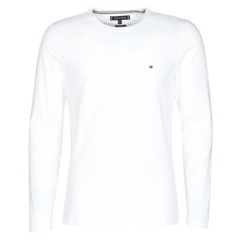 Odjeća Muškarci  Majice dugih rukava Tommy Hilfiger STRETCH SLIM FIT LONG SLEEVE TEE Bijela