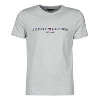 Odjeća Muškarci  Majice kratkih rukava Tommy Hilfiger TOMMY LOGO TEE Siva