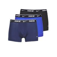 Donje rublje Muškarci  Bokserice Nike EVERYDAY COTTON STRETCH Crna / Blue