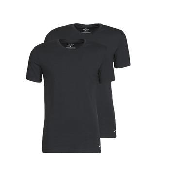 Odjeća Muškarci  Majice kratkih rukava Nike EVERYDAY COTTON STRETCH Crna