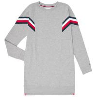 Odjeća Djevojčica Kratke haljine Tommy Hilfiger KG0KG05283-P6U Siva
