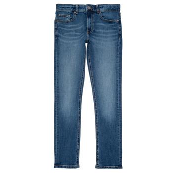 Odjeća Dječak  Slim traperice Tommy Hilfiger SCANTON SLIM Blue