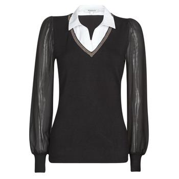 Odjeća Žene  Puloveri Morgan MVANI Crna