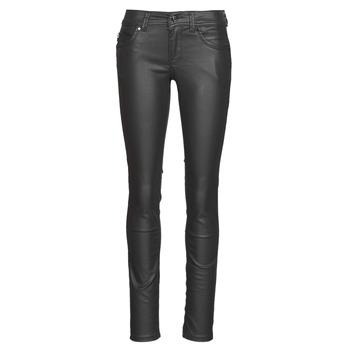 Odjeća Žene  Slim traperice Pepe jeans NEW BROOKE Crna