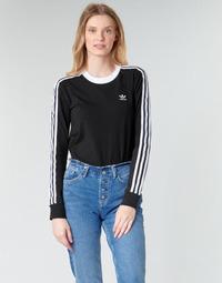 Odjeća Žene  Majice dugih rukava adidas Originals 3 STR LS Crna