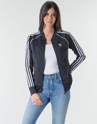 Odjeća Žene  Gornji dijelovi trenirke adidas Originals SST TRACKTOP PB Crna