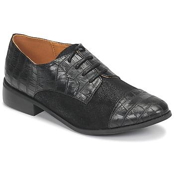 Obuća Žene  Derby cipele Moony Mood NOULESSE Crna