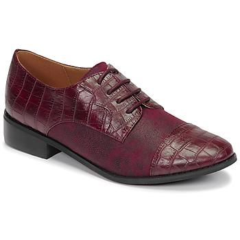 Obuća Žene  Derby cipele Moony Mood NOULESSE Bordo