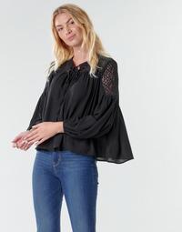 Odjeća Žene  Topovi i bluze Molly Bracken R1521H20 Crna