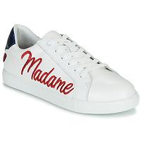 Obuća Žene  Niske tenisice Bons baisers de Paname SIMONE MADAME MONSIEUR Bijela