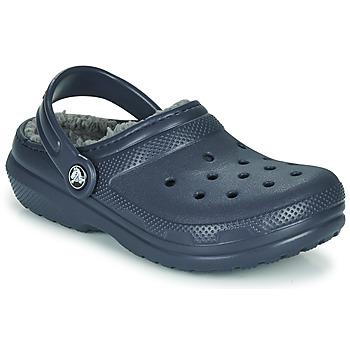 Obuća Djeca Klompe Crocs CLASSIC LINED CLOG K Plava