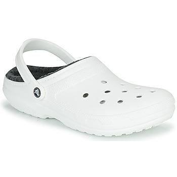 Obuća Klompe Crocs CLASSIC LINED CLOG Bijela