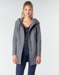 Odjeća Žene  Kaputi Moony Mood NANTE Siva / Zagasita