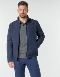Odjeća Muškarci  Kratke jakne Gant QUILTED WINDCHEATER Blue