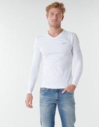 Odjeća Muškarci  Majice dugih rukava Kaporal VIFT Crna-bijela