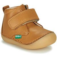 Obuća Djeca Polučizme Kickers SABIO Camel