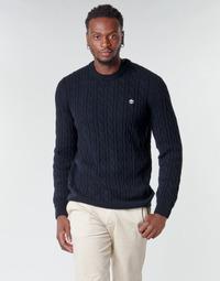Odjeća Muškarci  Puloveri Timberland LAMBWOOL CABLE Blue