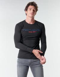 Odjeća Muškarci  Majice dugih rukava Teddy Smith TICLASS BASIC M Crna