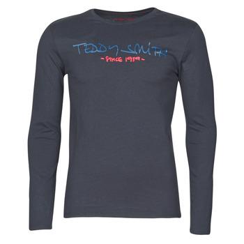 Odjeća Muškarci  Majice dugih rukava Teddy Smith TICLASS BASIC M Blue