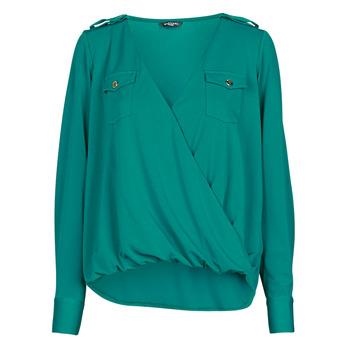 Odjeća Žene  Topovi i bluze Marciano SALLY CREPE TOP Zelena