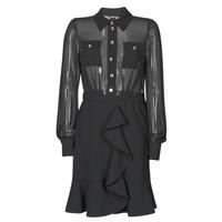 Odjeća Žene  Kratke haljine Marciano CAROL SHORT DRESS Crna