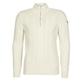 Odjeća Muškarci  Puloveri Schott PL BRUCE2 Krem boja