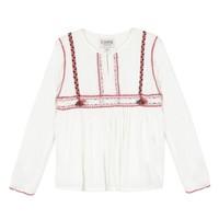 Odjeća Djevojčica Topovi i bluze Chipie 8R12014-19 Bijela