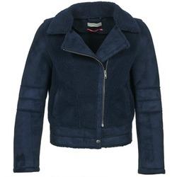 Odjeća Žene  Kožne i sintetičke jakne Naf Naf BYLLO Blue