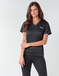 Odjeća Žene  Majice kratkih rukava adidas Performance W D2M SOLID T Crna