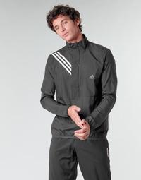 Odjeća Muškarci  Sportske majice adidas Performance OWN THE RUN JKT Crna