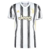 Odjeća Majice kratkih rukava adidas Performance JUVE H JSY Bijela / Crna