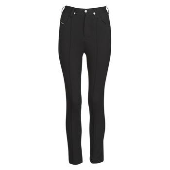 Odjeća Žene  Hlače s pet džepova Diesel P-CUPERY Black9xx